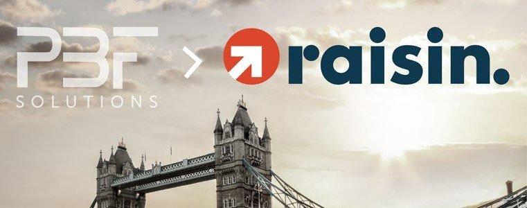 Raisin adquiere PBF Solutions: Queremos mejorar el mercado de productos de ahorro en Reino Unido